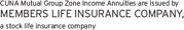Members type logo